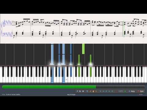 GunsN' Roses - November rain piano