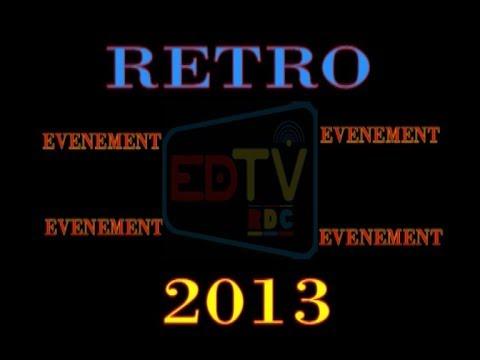 RETROSPECTIVE EDTV 2013: VOICI LES IMAGES CHOCS DE L'ANNEE