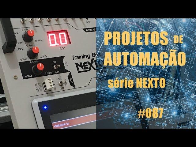 CRIANDO UM NOVO PROJETO COM CLP NEXTO | Projetos de Automação #087