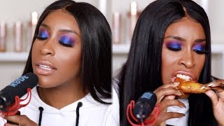 Reacting To HATE COMMENTS ASMR | Jackie Aina