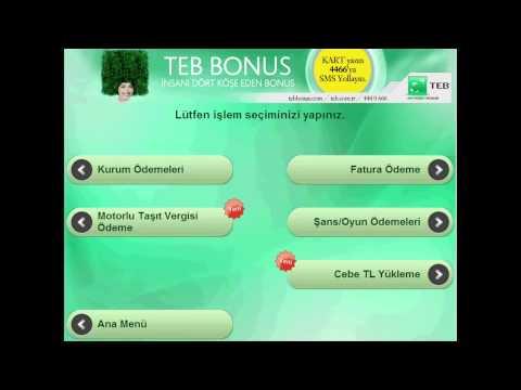 TEB ATM'lerinden Joypara Yükleme İmkanı