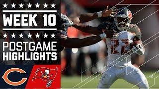 Bears vs. Buccaneers | NFL Week 10 Game Highlights