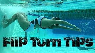 Flip Turn Tips - Swim with Leila