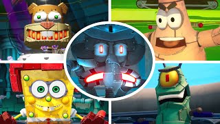 SpongeBob Battle for Bikini Bottom Rehydrated - All Robot Bosses