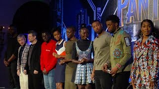 🍭 Marvel Studios BLACK PANTHER [FULL Press Conference] with complete cast !YOU GOT TO WATCH #FUN!