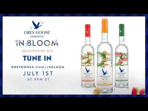 """GREY GOOSE® Essences Partners With Multi-Platinum Recording Artist SZA For """"In Bloom,"""" A One-Of-A-Kind Virtual Experience"""
