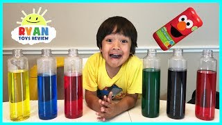 BEST LEARNING COLORS for Kids Children Toddlers Video! Sesame Street Fizzy Tub Colors Surprise Toys - YouTube
