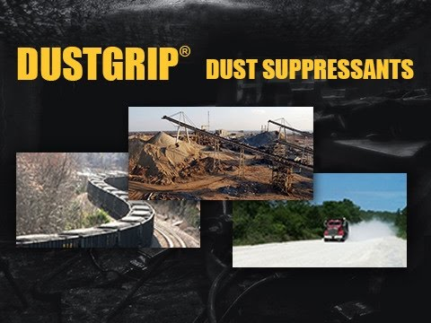 DUSTGRIP® Dust Suppressants reduce the generation of airborne particulate matter from unpaved roads and allows small dust particles to combine and increase in size by absorbing moisture from the air, making them less prone to become airborne.