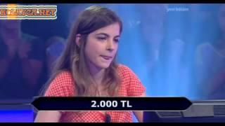 Kim Milyoner Olmak Ister 247. bölüm Eda Tekirli 02.07.2013