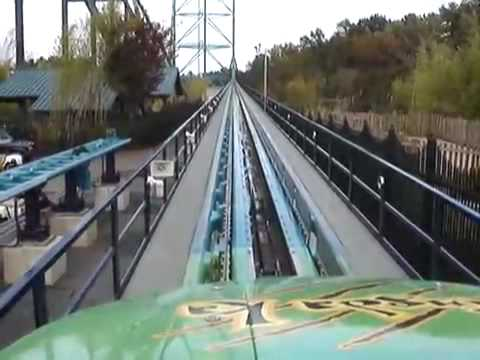 Kingda Ka -  the tallest and fastest roller coaster in the world
