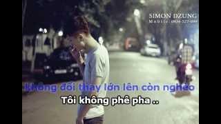 [Karaoke Beat] Con Nhà Nghèo - Vanh Leg