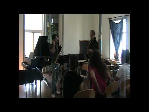 Arno Bornkamp Masterclass Salerno June 27 2010 Demersseman Fantaisie sur un Thème Original part 3