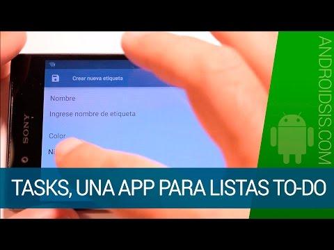 Tasks es una de las mejores apps para listas to-do