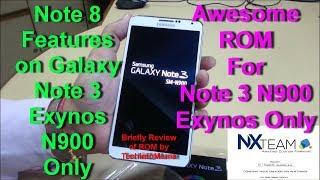 Rom Magma NxTeam Galaxy Note 3 N900V/N9005/N900W8/N900T/N900P - Maa21