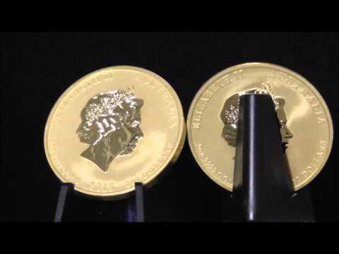 Australian 2 Ounce 2015 Gold Lunar Goat Coin 999.9