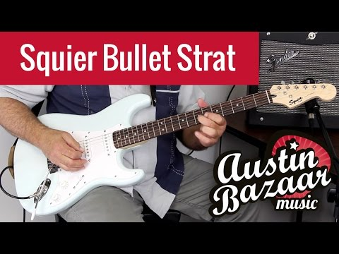 Fender Squier Bullet Strat Review - Sonic Blue