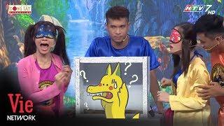 Lâm Vỹ Dạ hét banh sân khấu với trò chơi đoán vật trong hộp | 7 Nụ Cười Xuân [Full HD]