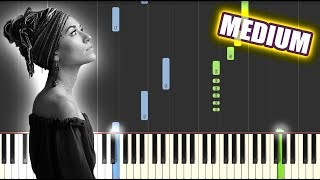 Still Rolling Stones - Lauren Daigle | MEDIUM PIANO TUTORIAL by Betacustic