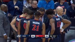 Last 30 seconds of 3/1/18 UVA Game