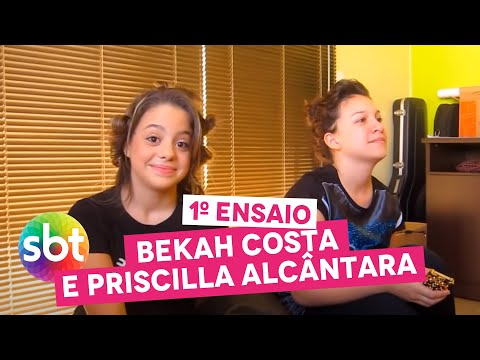 Baixar 1º ENSAIO: Bekah Costa e Priscilla Alcântara - sbt
