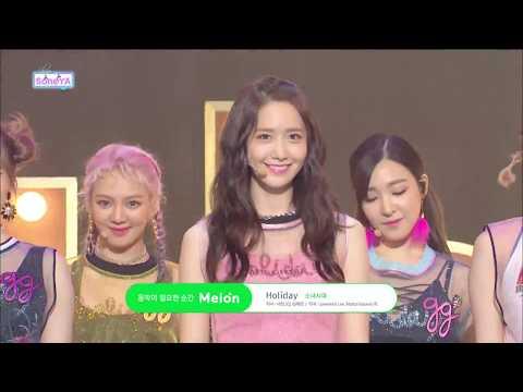 SNSD Girls' Generation (소녀시대)  - Holiday (홀리데이) [Stage Compilation 교차편집]