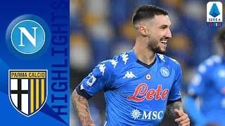 Napoli 2-0 Parma | Elmas & Politano Secure Home Victory | Serie A TIM