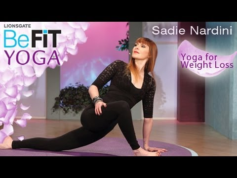 yoga for weight loss befit yoga sadie nardini  youtube
