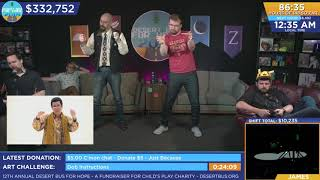 DB2018 - Graham and Ian do the PPAP dance