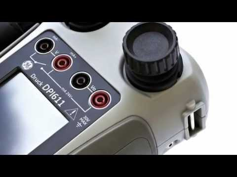 GE Druck DPI 611 Pressure Calibrator Official Video