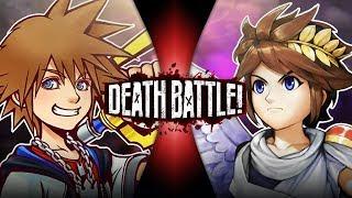 Sora VS Pit (Kingdom Hearts VS Kid Icarus) | DEATH BATTLE!