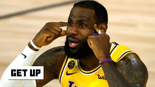 How can LeBron and the Lakers stay motivated in the bubble?   Get Up