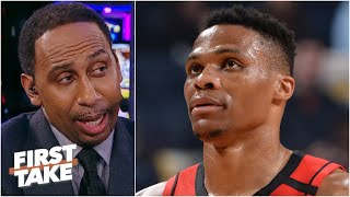 Russell Westbrook needs to be careful! - Stephen A. is worried about the Rockets | First Take