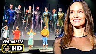 ETERNALS (2020) D23 Panel Footage [HD] Marvel Phase 4