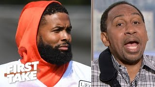 OBJ should be ranked below DeAndre Hopkins, Michael Thomas and Tyreek Hill - Stephen A. | First Take