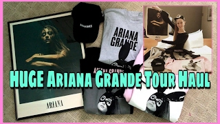😍HUGE Ariana Grande Tour Merch Haul😍 | Sara Harlee