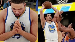 NBA 2K16 MyCAREER - EPIC 1st Home Game! Klay BOOMS On B.Knight!