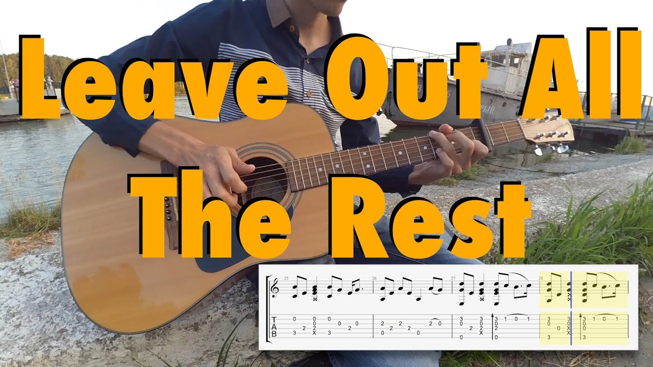 leave-it-all-to-me-tab-guitar