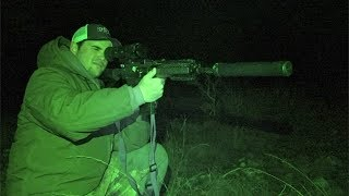 EPIC Thermal Wild Hog Hunting!!! - CATCH CLEAN COOK (Night Vision)