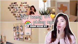 LÀM ĐỒ TRANG TRÍ PHÒNG ĐÓN HÈ ♡ - EASY ROOM DECOR DIY // BÓNG BAY