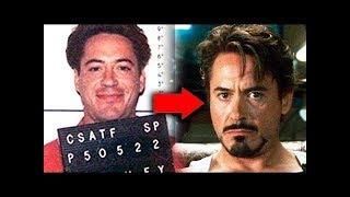 Before Iron-Man: The Dark Past of Robert Downey Jr.