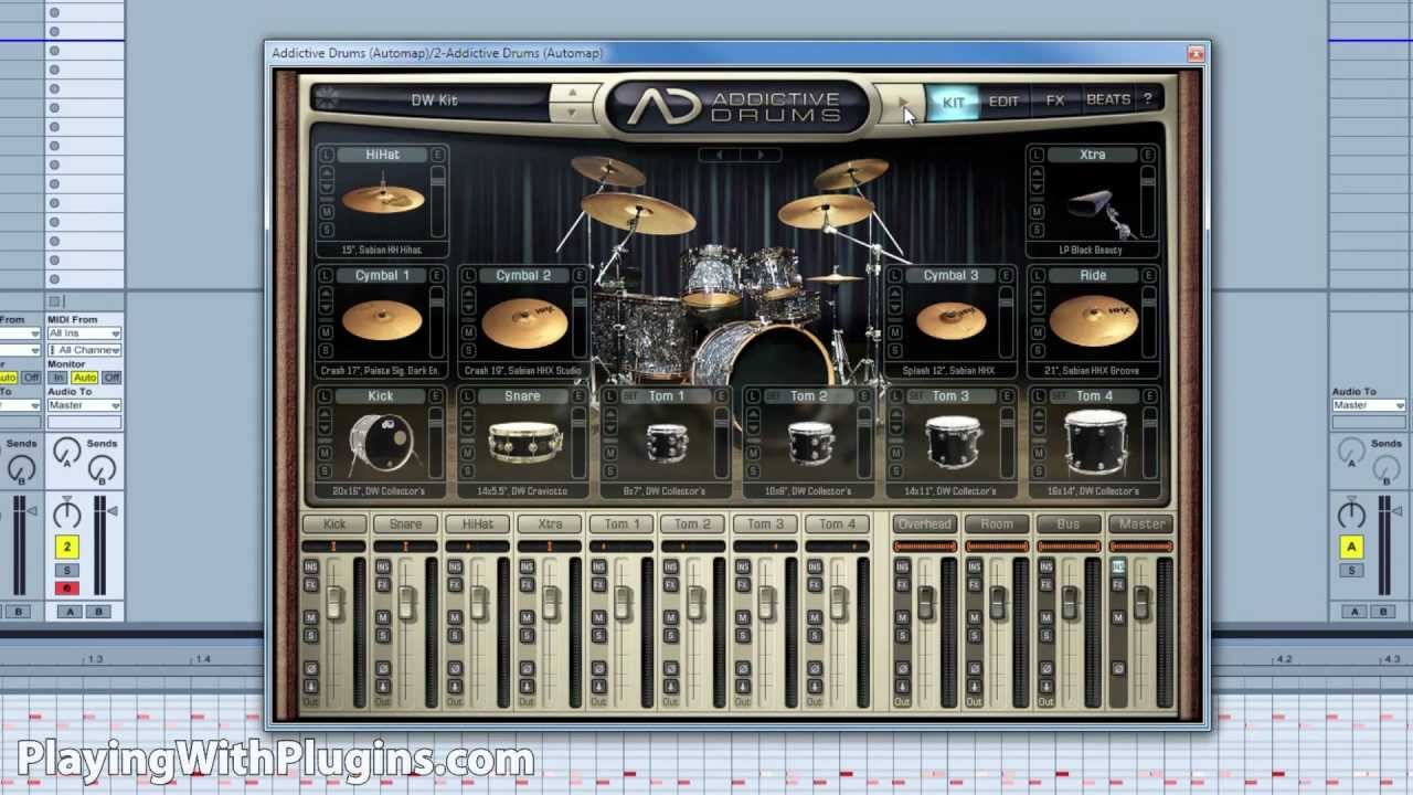 xln audio addictive drums review playingwithplugins youtube. Black Bedroom Furniture Sets. Home Design Ideas