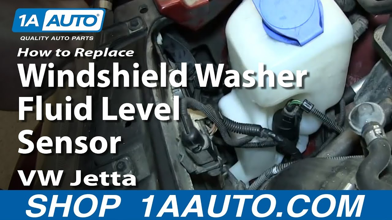How To Replace Windshield Washer Fluid Level Sensor 2000