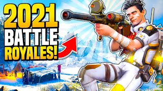 NEW Battle Royale Games Coming in 2021!