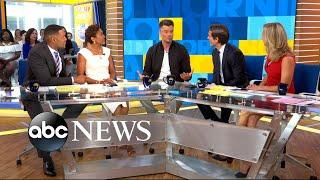 Josh Duhamel reveals his awkward pickup line for wife Fergie