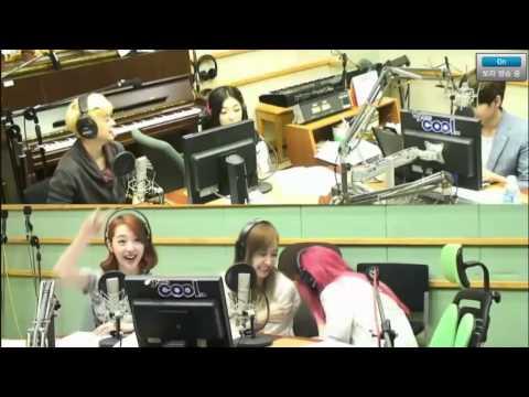 130729 Krystal hit Victoria lol @Kiss The Radio