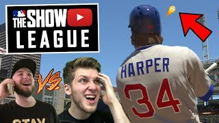 2 GRAND SLAMS IN ONE GAME!? FUZZY VS HEALY6 GAME #1! MLB THE SHOW 18 YOUTUBER LEAGUE