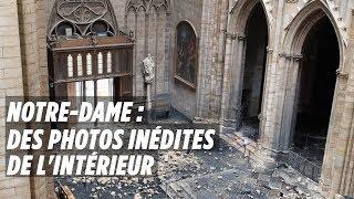 Notre-Dame : Les photos inédites de l'intérieur de la cathédrale