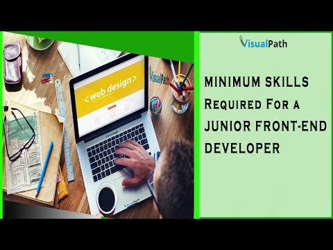 Minimum Skills Required For A Front-End Developer