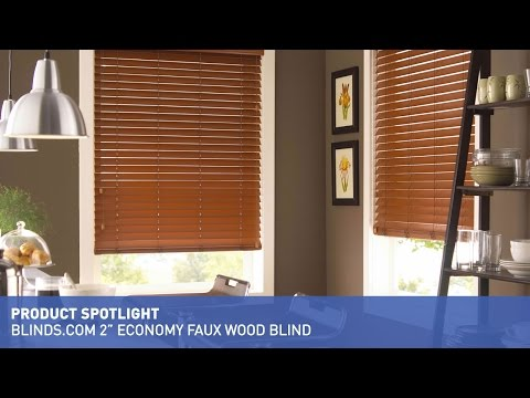"Blinds.com 2"" Economy Faux Wood Blind"