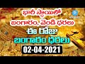 Today Gold rate | Gold Price in Hyderabad | Silver Price 2nd April 2021 | Telugu Popular TV